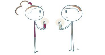 Kerst is… een lichtje aan iemand anders geven